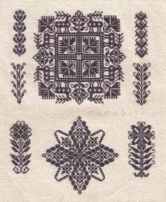Вышивка крестом - авторские